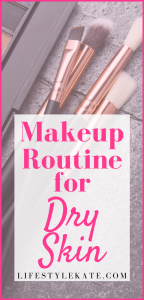 makeup routine for dry skin