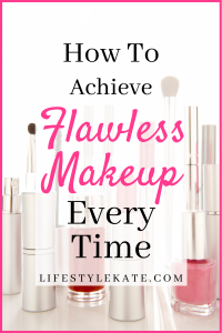 flawless makeup application