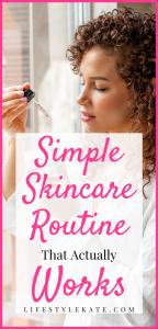 Easy skincare routine