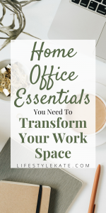 work from home must haves