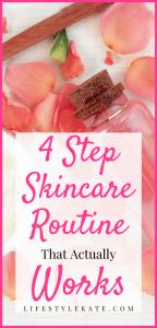 Simple skincare routine
